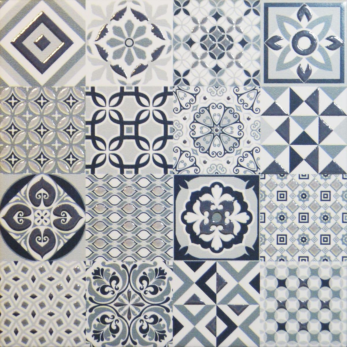 la tienda del azulejo vintage gris 20x20