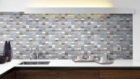 Mosaico cerámico para revestimiento de cocina