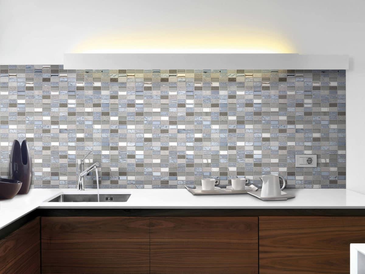Azulejos de pequeño formato para cocinas y baños